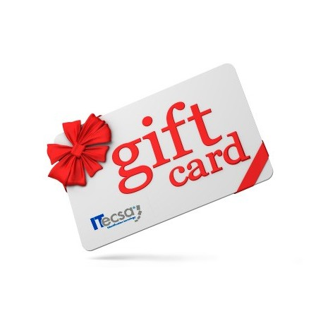 Tarjetas Gift Card