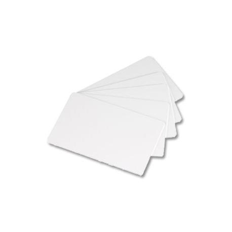 Evolis blanco regrabable PVC Cards azul