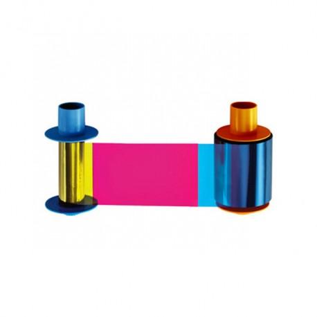 Fargo Cinta de Color - YMCKO - 500 impresiones