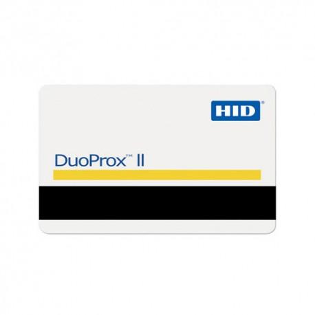 Tarjetas HID DuoProx II con banda magnética