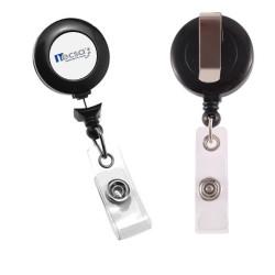 Portacredencial yoyo retráctil con opcion de DOME corporativo