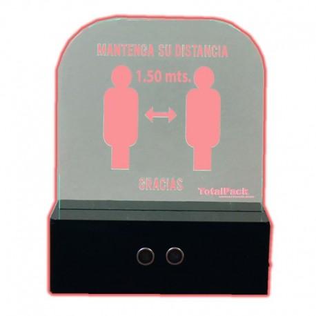 Dispositivo alerta distanciamiento físico