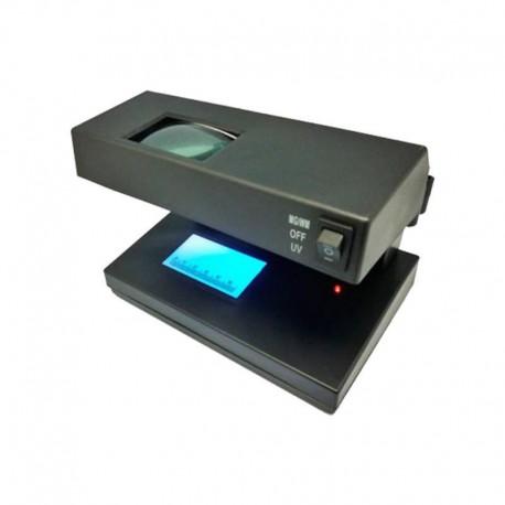Detector Billetes Falsos 2 TUB LED KB-258+LUPA