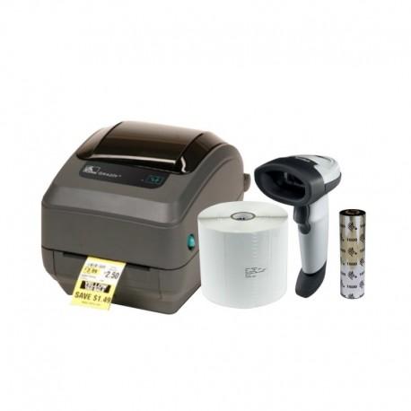 Kit Impresora de Etiquetas GK420T Advanced Desktop
