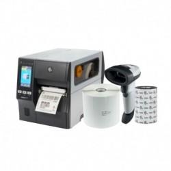 Kit Impresora de Etiquetas ZT411 Industrial