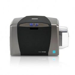 Kit de Impresora de Tarjetas Fargo DTC1250e Single Configurable-Incluye: Ribbon-Softwarre-100 tarjetas PVC